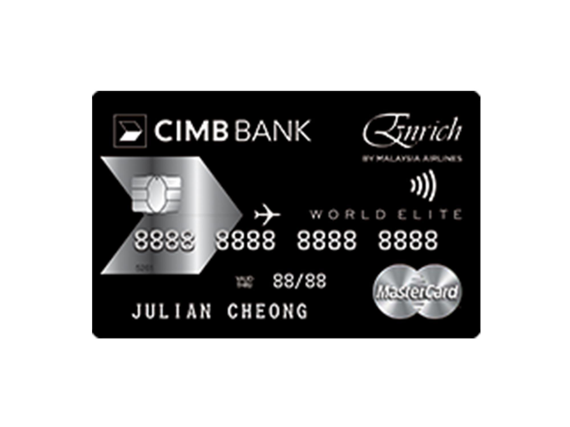 Cimb earn miles reheart Choice Image