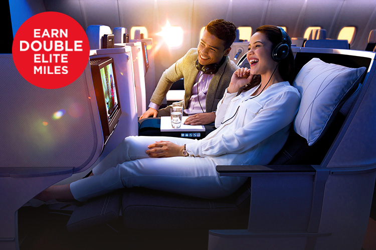 Earn 2X Elite Miles to Fast Track to Next Tier